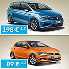 Sonderleasing VW Polo & VW Touran