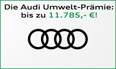 Die Umweltprämie/Diesel-Abwrackprämie von Audi
