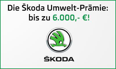 Die Diesel-Abwrackprämie / Umweltprämie von Škoda