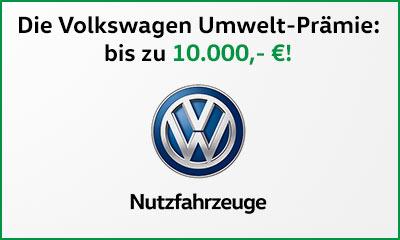 Die Nutzfahrzeug-Umweltprämie von VW - Diesel-Abwrack-Prämie